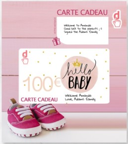 personalized gift card with Predesire's configurators